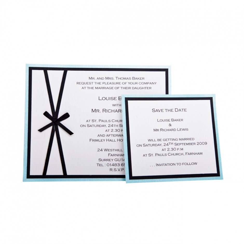 Wedding Invitation 5-01